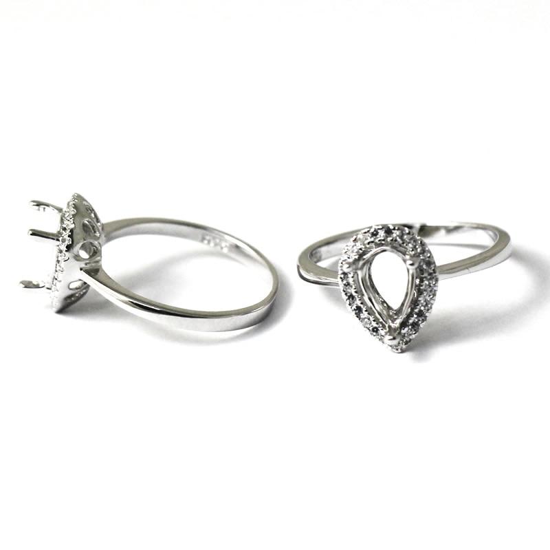 Beadsnice-خاتم خطوبة من الفضة الإسترليني للنساء ، خاتم خطوبة ، 925 فضة ، تصميم أنيق وشعبي ، ID27353