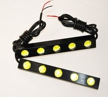 2PCS 5W 6W LED Waterproof Eagle Eye Fog Driving Lights led 160mm 135mm Daytime Running light drl