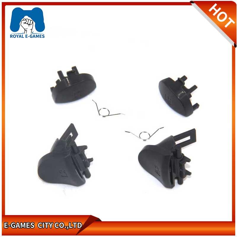 Бесплатная доставка 5 шт./лот Замена L2 R2 Tigger кнопка с пружиной для PS4 беспроводной контроллер L1 R1
