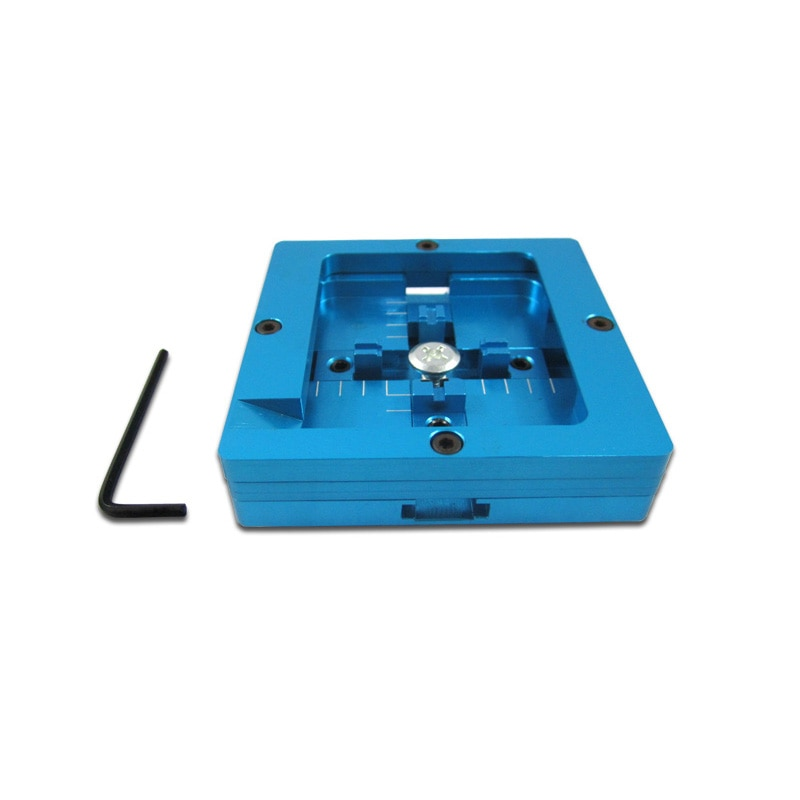 Accesorio Original de la máquina de reelaboración BGA 80 MM montura única azul Bga Reballing Station mesas de planta para Bga Reballing