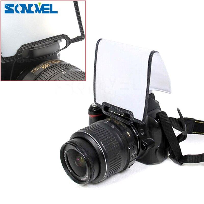 Universal flash difusor pop up speedlite difusor para canon nikon pentax olympus fuji 10d 20d 20da 30d 40d 50d dslr câmera