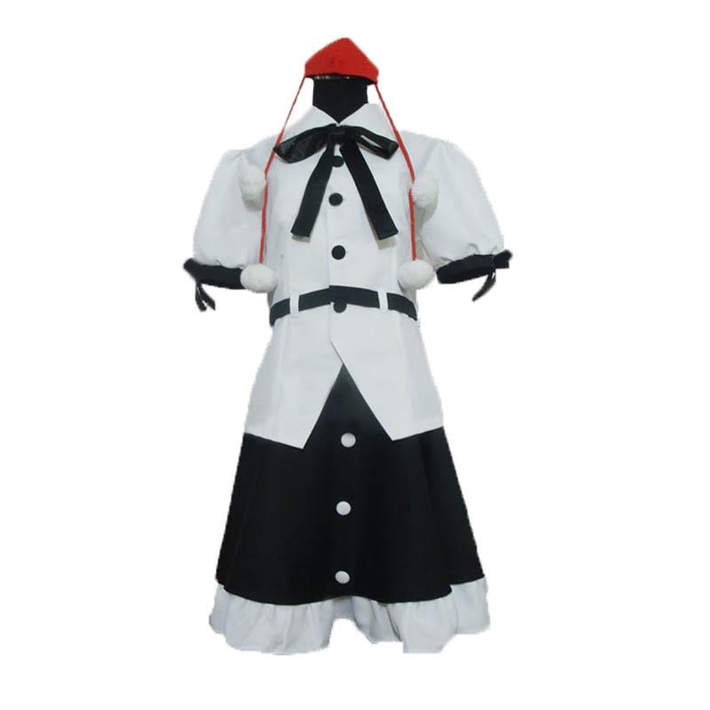 Touhou projet Aya Shameimaru Cosplay Costume sur mesure