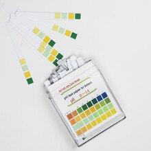 100 Stuks Ph 0-14 Medische Lakmoesproef Papier Lichaam Ph Teststrips Alkaline Acid Water Speeksel Urine Universele speciale Indicator Papier