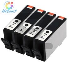 Hisaint 2019 nouvelle cartouche dencre 4Pk pour imprimante HP 564XL noir PhotoSmart 7510 7520 5510 5520 6510