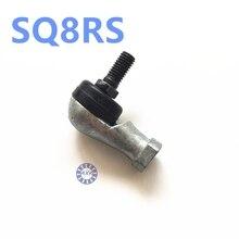 KOSTENLOSER VERSAND 2 stücke SQ8RS SQ8 M8x 1,25 8mm weiblichen metrischen gewinde Winding Ball Gemeinsame rechte hand tie stange ende lager