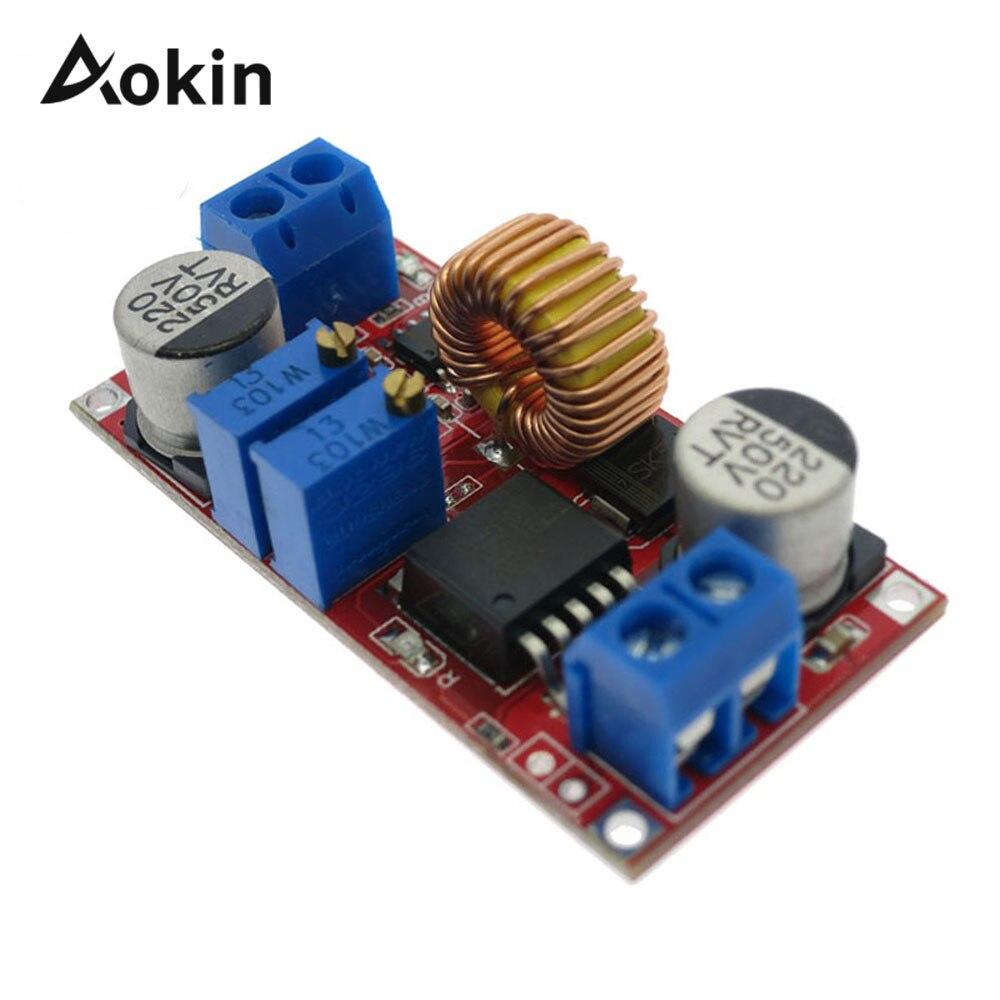 2 шт. Dc-Dc XL4015 DC to DC CC CV 5A литиевая батарея понижающая плата для зарядки светодиодный преобразователь питания зарядное устройство понижающий м...