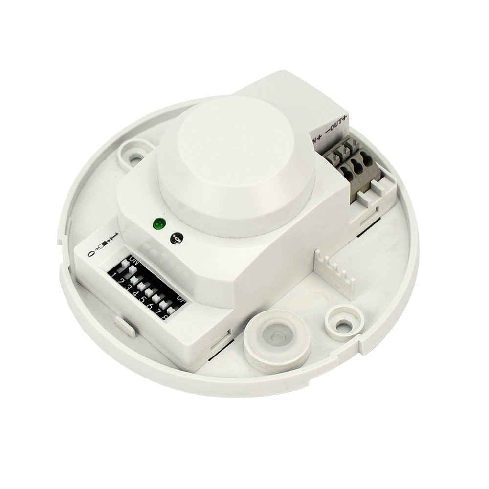SK-701 DC 12 v-v 5.8 ghz Sensor de Radar de Microondas Corpo 24 HF Detector de Movimento Interruptor de Luz