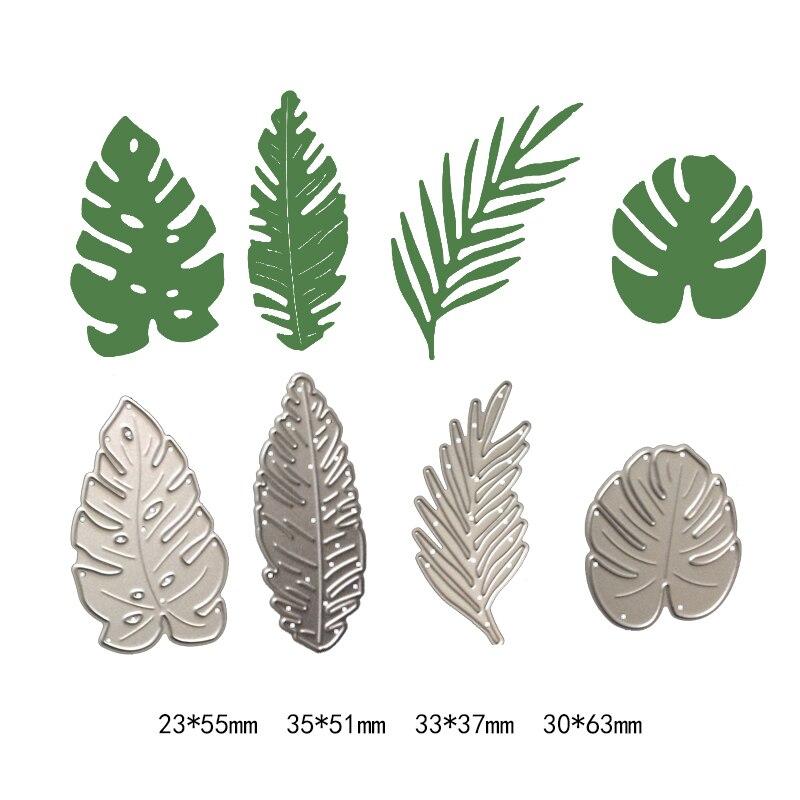 Натуральный Растительный сосновый лист, новые режущие штампы, фотоальбом, скрапбукинг, штампы, металлический трафарет, ремесло, выбивание бумажных карт