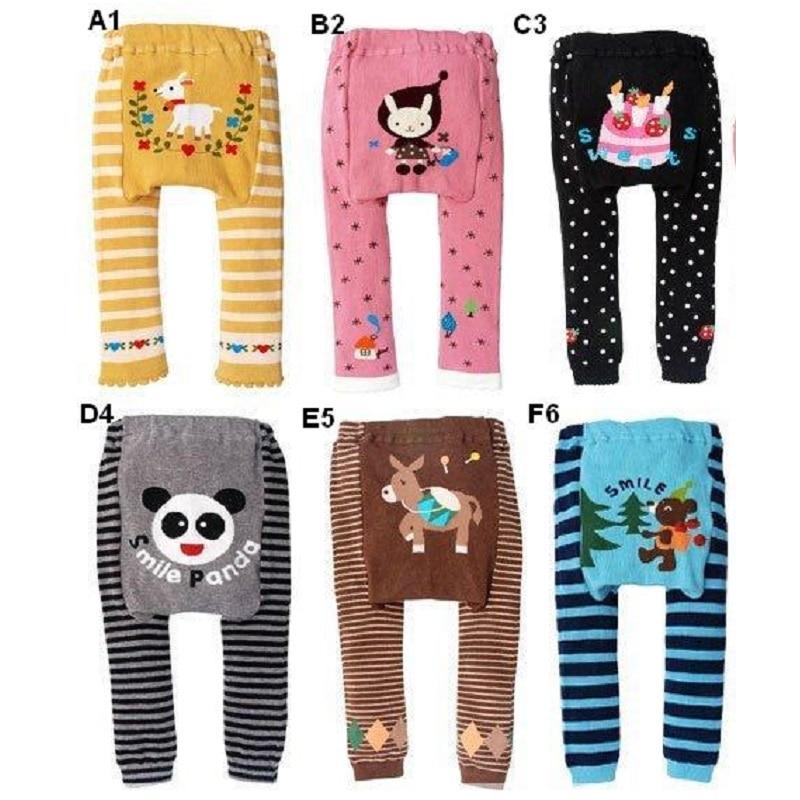 Hooyi Baby Pants girls legging Tights kids Leggings Newborn PP pant baby boy clothes underpant cartoon animal