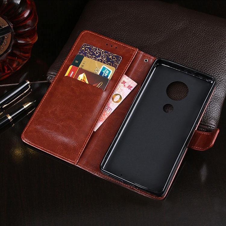 Чехол из искусственной кожи для телефона Motorola Moto G4 Play G5 G5S G6 E6 Plus G7 Power E5 E4 Euro Z3 X4 Z2 Force P30 Note Case Flip