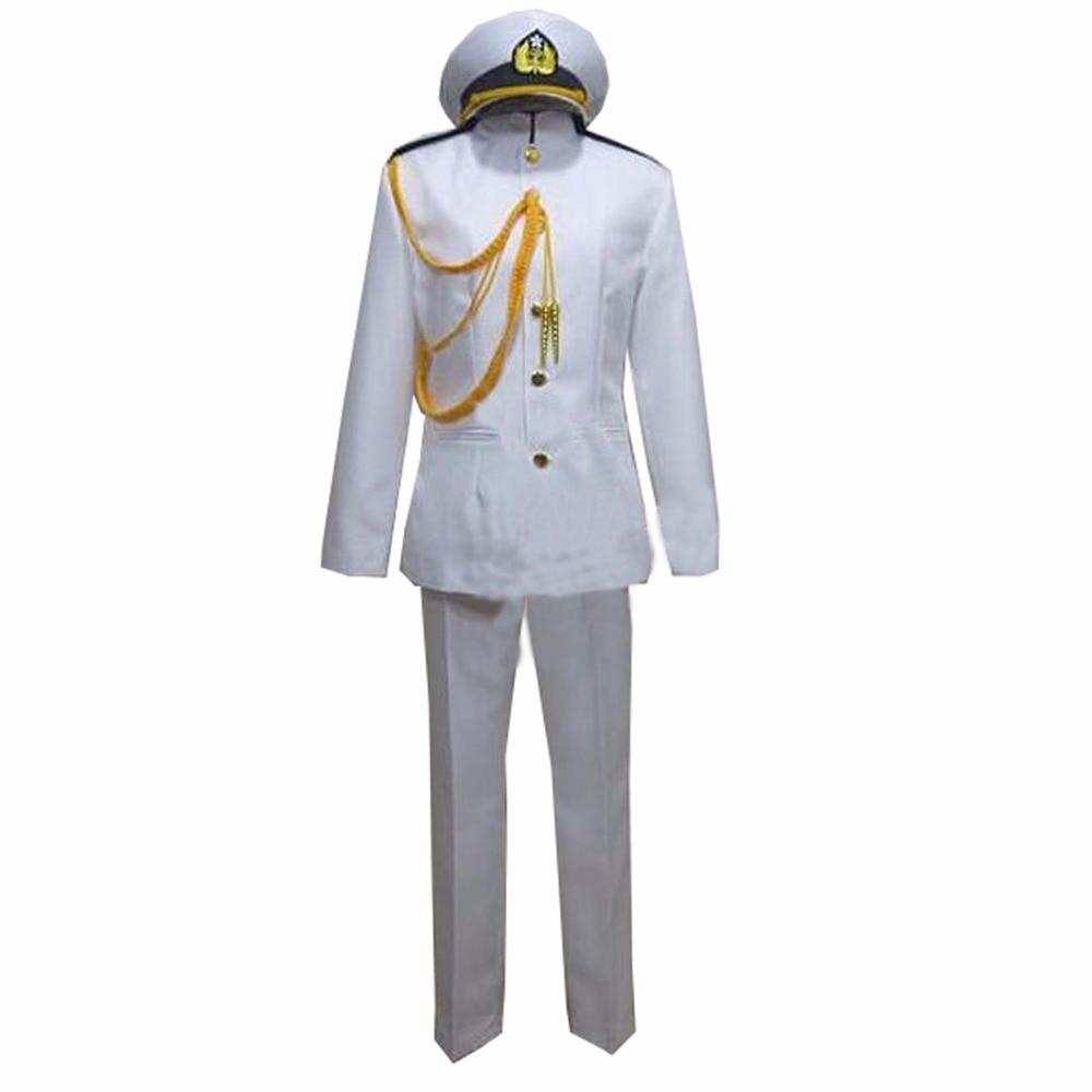 2018 Kantai Collection teitoku T Admiral uniforms Cosplay Costume