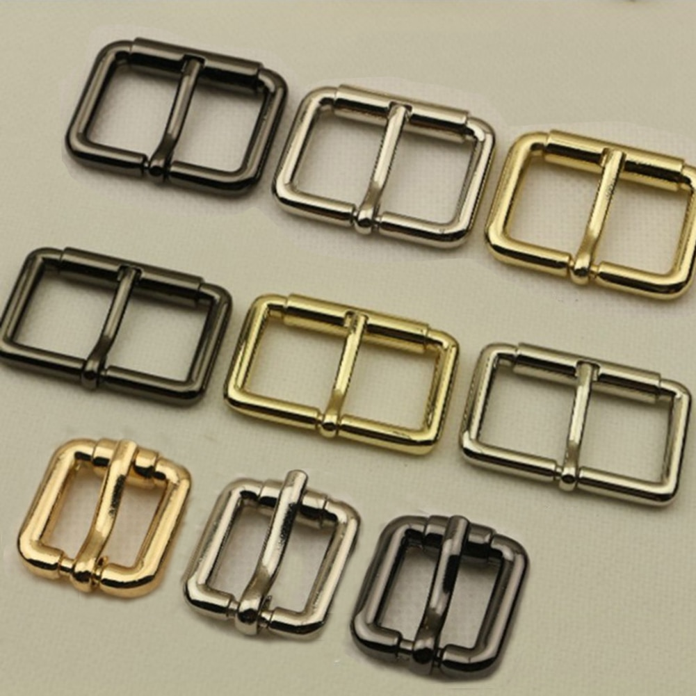 DIY Metal  Rectangle Ring Shoulder Bag Strap Accessories For Bags Replacement Adjustable Luggage Rol