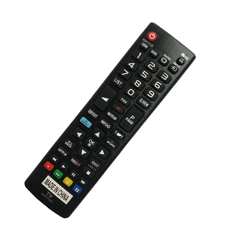 Mando a distancia de repuesto AKB73715601 para LG TV AKB73975728 39LN575S 32LN5758 42LN5758 50LN5708ZA 55LA690V 55LA691V 55LA860V