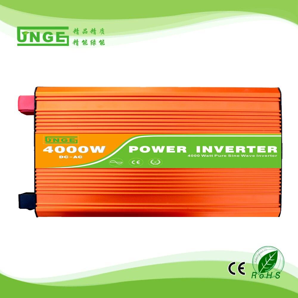 4KW/4000 واط 24/48/96 فولت إلى 100/110/120/220/230/240VAC 50/60 هرتز السكنية المنزلية عالية التردد استخدام نقية شرط موجة قبالة الشبكة العاكس
