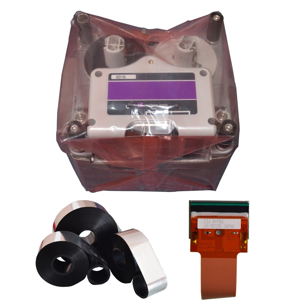 Marketing-imaje 8018 Cinta de transferencia térmica de resina de cera en el interior de la tinta para farmacia e industria alimentaria