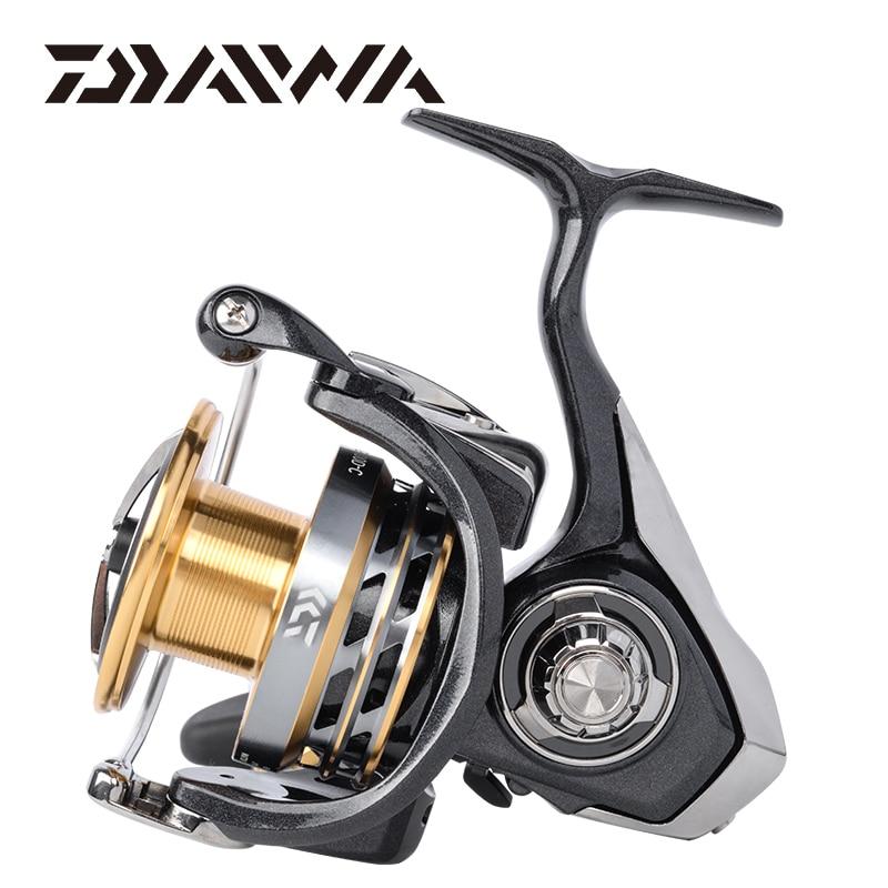 Daiwa exceler lt molinete de pesca 1000/2000/3000/4000/5000/6000 5.3: 1 carretilha de pesca max arraste 12kg carretel de pesca roda