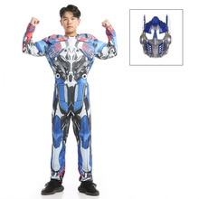 Adulte garçons Cosplay film Muscle Optimus premier costumes hommes super-héros corps Costumes pour carnaval Halloween costumes fête