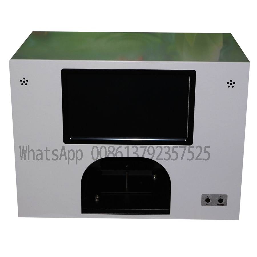 2020 new model CE Approved 5 nails and 3 flowers printer nail printing machine free shipping worldwide