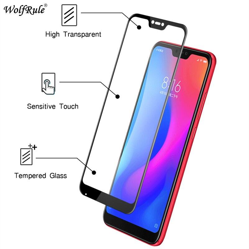 2PCS For Glass Xiaomi Mi A2 Lite Screen Protector Tempered Glass For Xiaomi Mi A2 Lite Glass Xiaomi Redmi 6 Pro Full Phone Film