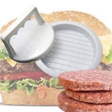 Moule à Hamburger en plastique   Forme ronde, presse à Hamburger, plastique de qualité alimentaire, viande boeuf Grill Burger presse patates, moule outil de cuisine