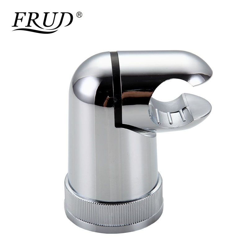 FRUD, soportes de montaje de ducha de plástico ABS, soporte de ducha de mano, soporte de pared de soporte, montaje para baño, cabezal de ducha pulverizador superior