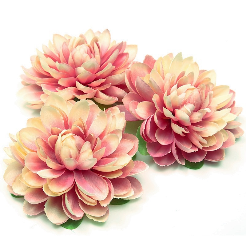 1 шт. Новая высококачественная шелковая искусственная Цветочная головка для свадебной вечеринки DIY цветочная настенная брошь для головного убора