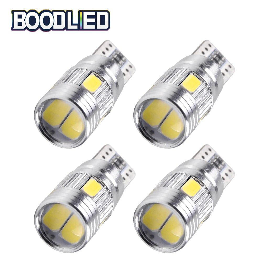 T10 W5W светодиодный ная лампа 5630 SMD 6 SMD светильник щение 168 194 автомобильное светодиодное габаритное освещение T10 Светодиодная Автомобильная б...