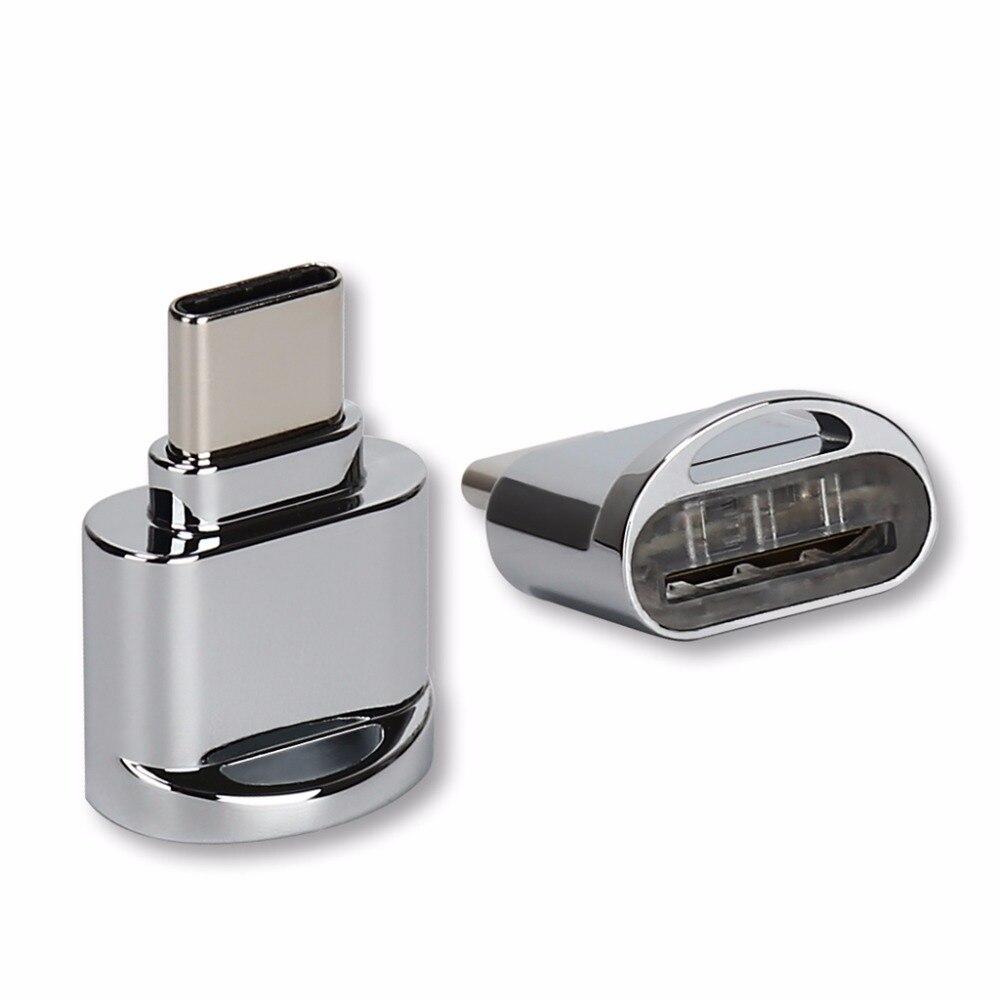 USB 3.1 Type C Micro SD TF lecteur de carte mémoire adaptateur OTG pour Samsung S8 LG G6 G5 V20 Xiaomi Huawei P9 P10 Chromebook OnePlus