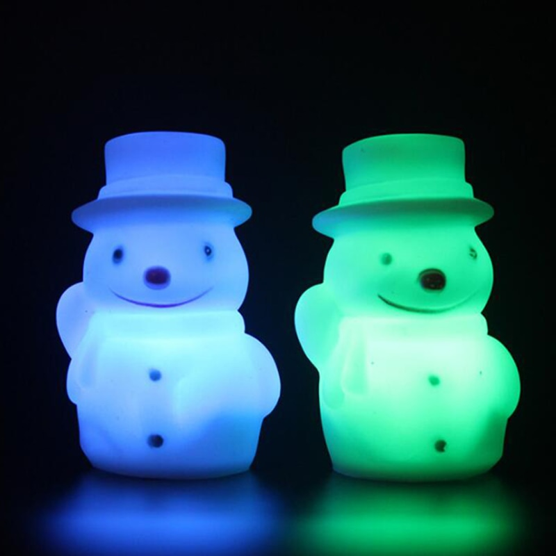 LED Santa Claus Night Light for Children Baby Kids Gift Animal Cartoon Decorative Lamp Bedside Bedroom Christmas Decoration enlarge