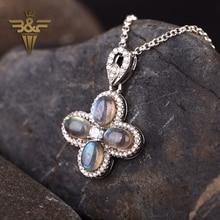 Beautiful stone,Labradorite,Fashion gemstone women necklace pendant,24x22x4mm 5.7g
