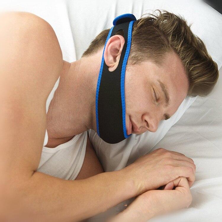 Stop Schnarchen Kinnriemen Anti Snore Kinnriemen Schnarchen Gürtel Schlaf Unterstützung Anti Apnea Kiefer Lösung
