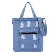 Женская Холщовая Сумка-тоут Good, новая вместительная сумка через плечо в уличном стиле, с эффектом муссы