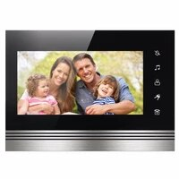 smartyiba color touch screen 7 inch indoor monitor work for wired home video intercom 1000tvl monitor visual video intercom
