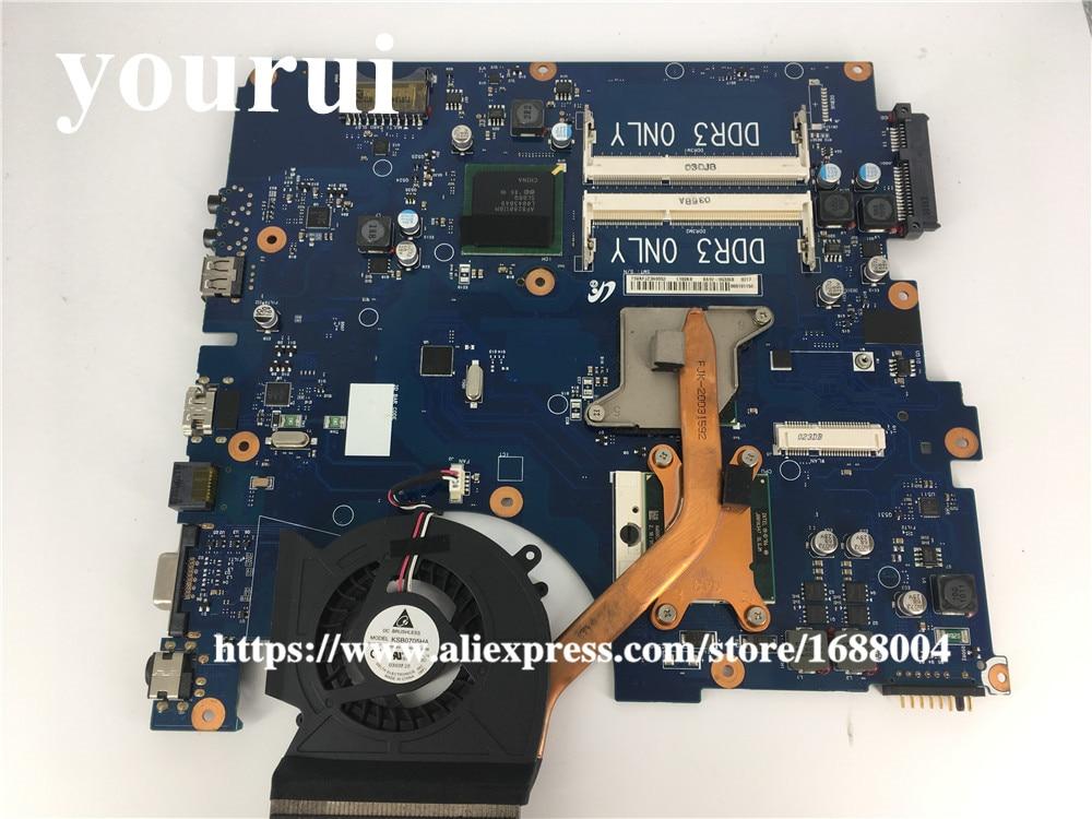 BA92-06336A материнская плата для ноутбука Samsung NP-R530 R530 R528 материнская плата BA92-06336B BA41-01223A материнская плата + ЦП + радиатор
