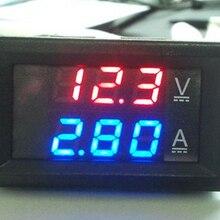 Ampèremètre tension courant testeur Mini voltmètre numérique ampèremètre DC 100V 10A panneau 0.28