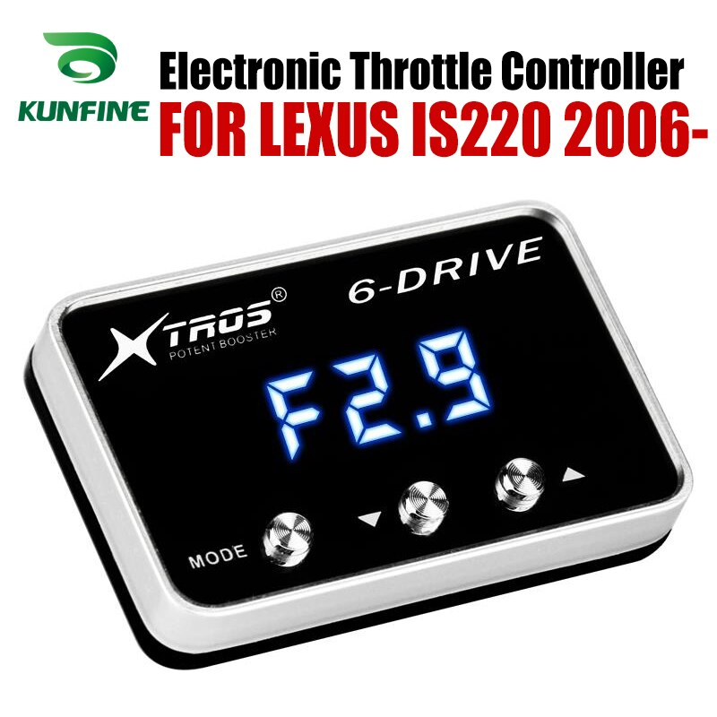 Auto acelerador electrónico controlador de acelerador potente amplificador para LEXUS IS220 2006-2019 piezas de Tuning accesorio