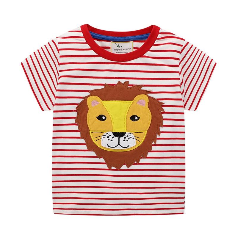 Baby T-Shirt for Boys Cartoon Print Summer Toddler Kids Boys Girls T-Shirts Clothes Cotton Children's T-Shirt O-Neck Tee Top