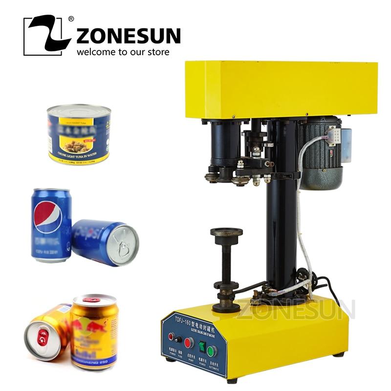 Máquina selladora de latas, selladora de latas de plástico, cerveza, alimentos, enlatado mm, yonesun 39-150