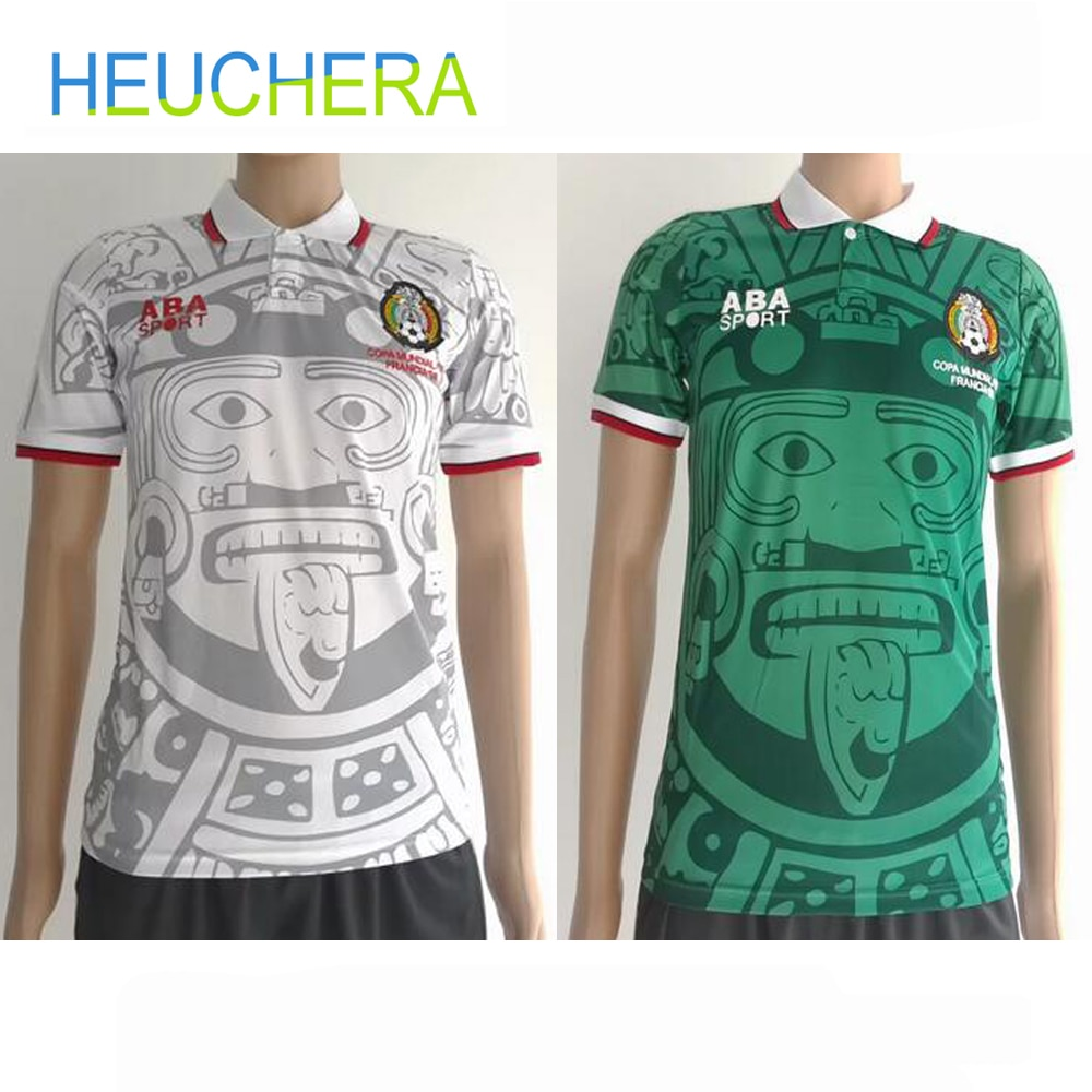 HEUCHERA 1988 Edición Limitada Edición Conmemorativa 1998 Retro camisetas hogar top camisetas de fútbol