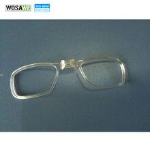 WOSAWE 3 pièces/lot qualité plastique myopie cadre vélo cyclisme lunettes de soleil cadre intérieur lunettes pour myope lentille