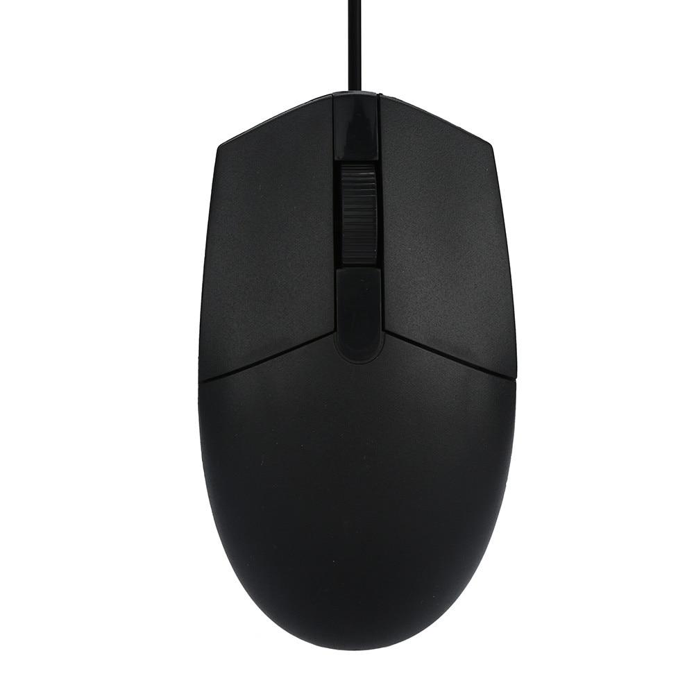 Mousnx 1200 DPI USB Проводная мышь черный Бизнес Офис Эргономичный дизайн Проводная мышь геймер Мыши для ПК ноутбука Mac 0316