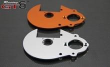 Plaque dengrenage GTBracing (argent et orange) pour hpi km rv baja 5b ss 5 t 5sc GR059