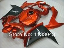 Pre_drilled orange noir kit de carénage pour Yamaha YZF R1 07 08 YZF-R1 07-08 YZF1000 R1 07 08 YZF R1 2007 2008 # T22S kits de carénage