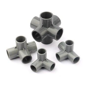Внутренний диаметр. Коннекторы для труб из ПВХ серого цвета, 20 мм, соединения для полива теплиц, 3, 4, 5, 6 режимов, стереозвук