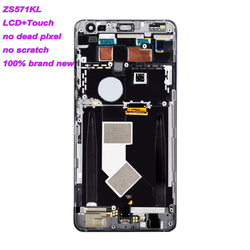 Original 5.7'' For ASUS ZS571KL ZS572KL lcd Display For Zenfone AR Screen LCD Display Assembly with Frame Replacement Parts enlarge