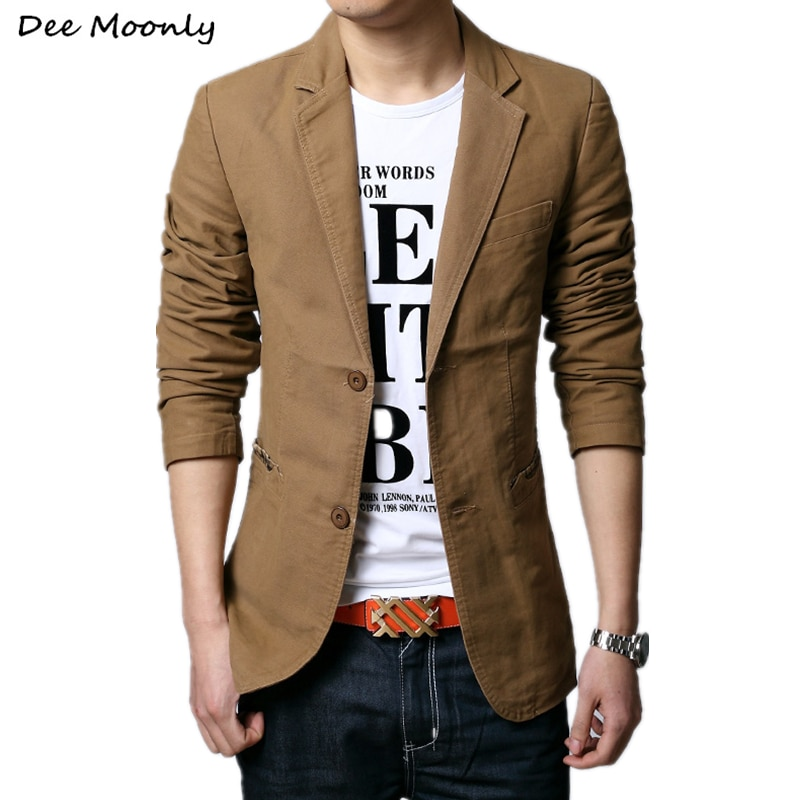2021 Spring Autumn New Men Blazer Fashion Slim casual blazer for Men Brand Mens suit Designer jacket
