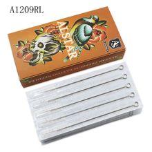 ALSTAR 50Pcs 0.35MM Disposable Sterilized round liner Tattoo Needle Medical For Tattoo Machines Gun Liner Shader A1209RL supplie