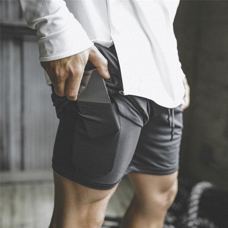 Casual calções de fitness de algodão de verão dos homens calções de musculação homme confortável ginásios calças curtas na altura do joelho boardshorts
