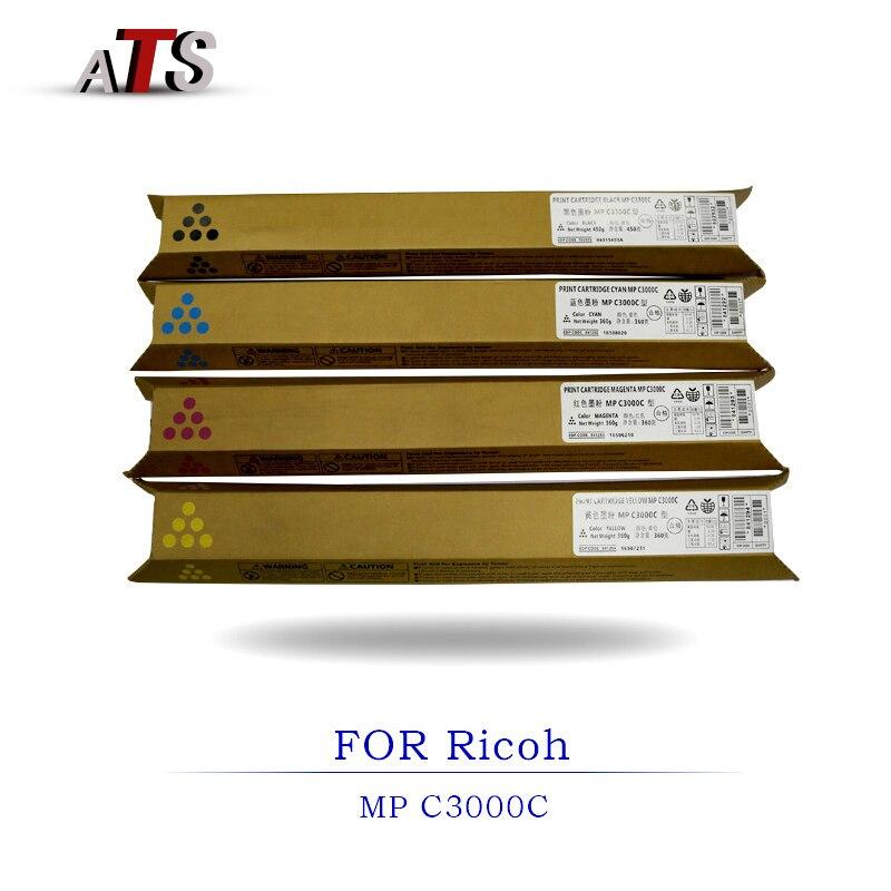 1 قطع تصوير تركيب MP C3000 الحبر خرطوشة متوافقة لريكو Aficio MPC3000C ناسخة قطع الغيار مع الحبر مسحوق
