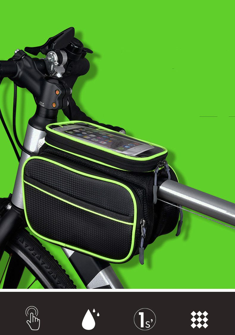 Riding Package Long straps Travel Wristlets waterproof bike Handlebar bag 8 Colour with HIGHLIGHT AN